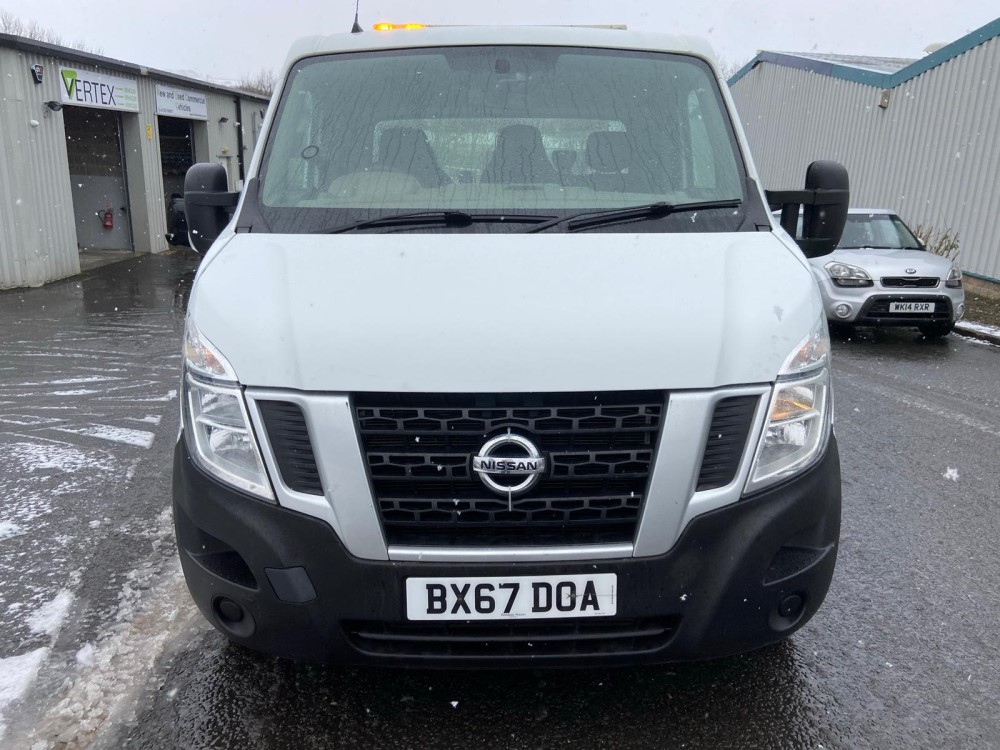 2018 67 reg NISSAN NV400 RECOVERY TRUCK (SOLD ON SITE - LOCATION NELSON)