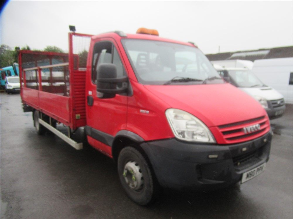 2009 IVECO DAILY 65C18 DROPSIDE 6.5t LORRY