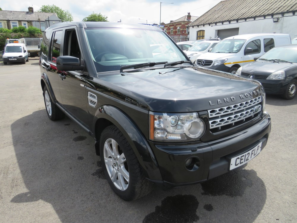 2012 12 reg LAND ROVER DISCOVERY SDV6 AUTO 255 (4K SEAT CONVERSION IN BACK)