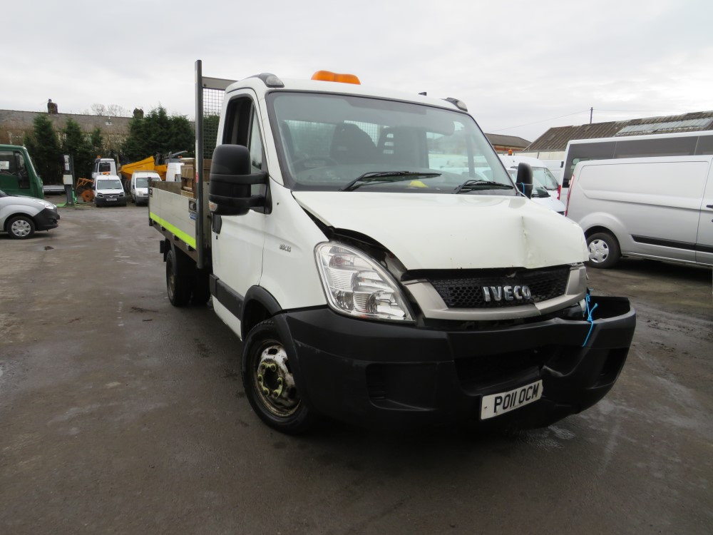 2011 11 reg IVECO DAILY 35C15 MWB TIPPER (DIRECT COUNCIL)