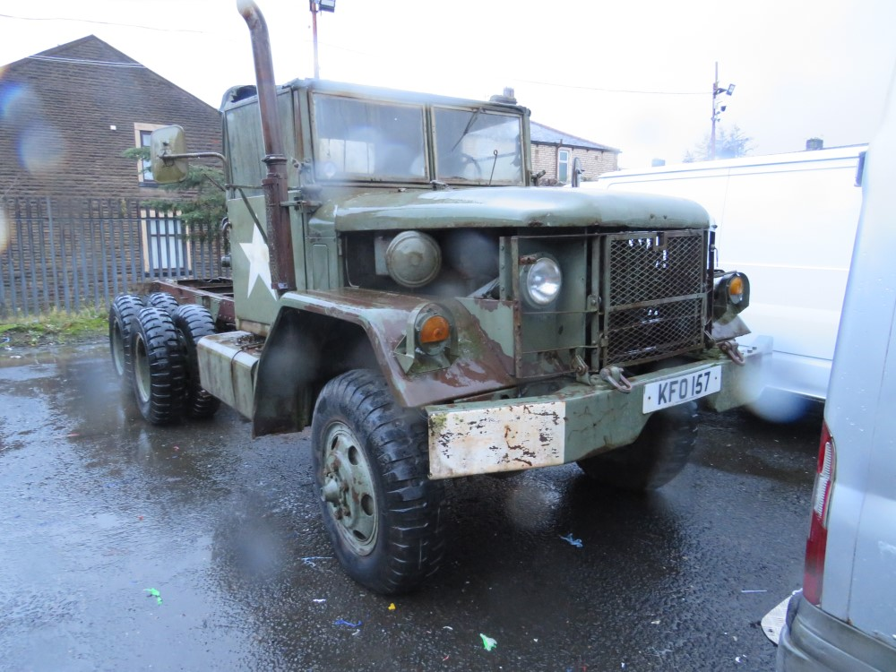 1996 US ARMY TRUCK - NON RUNNER