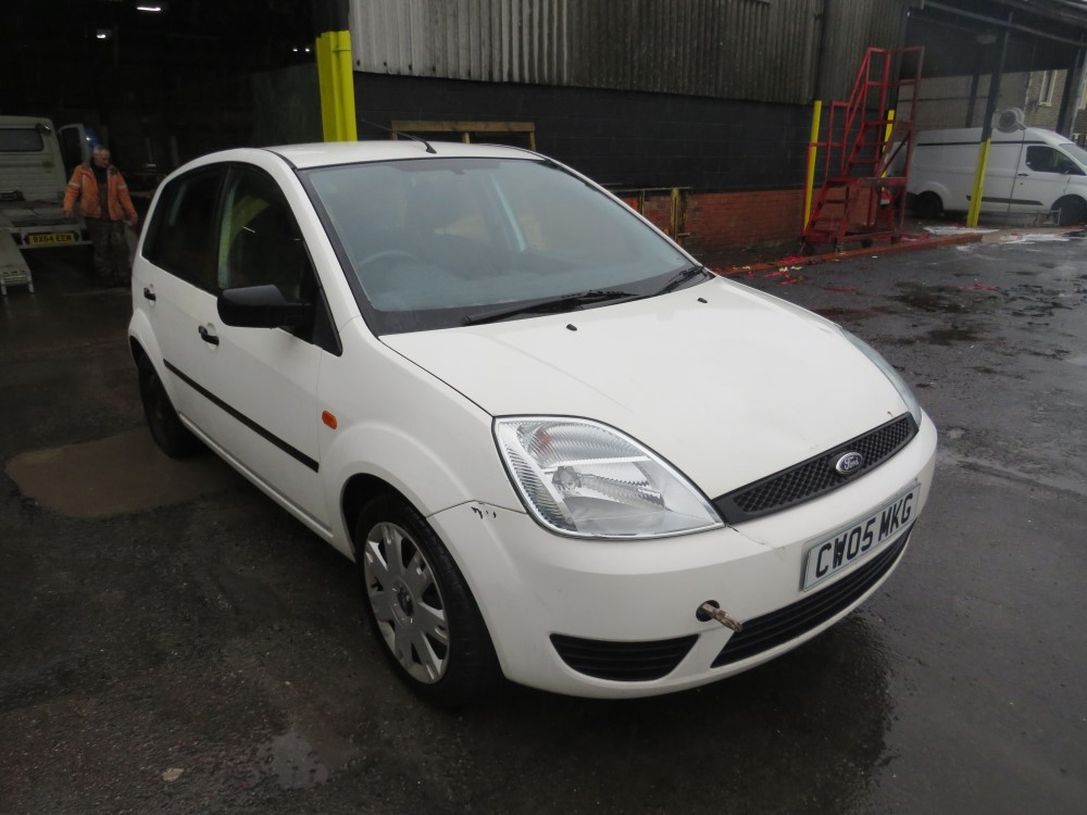 2005 05 reg FORD FIESTA STYLE 5 HATCHBACK (DIRECT COUNCIL)