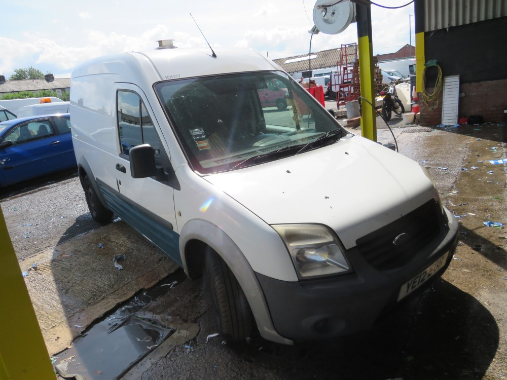 2012 12 reg FORD TRANSIT CONNECT 90 T230 - NON RUNNER (DIRECT UNITED UTILITIES WATER)