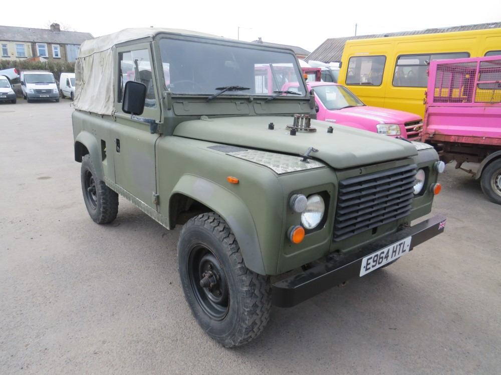 1987 E reg LAND ROVER DEFENDER 90 200 TDI SOFT TOP
