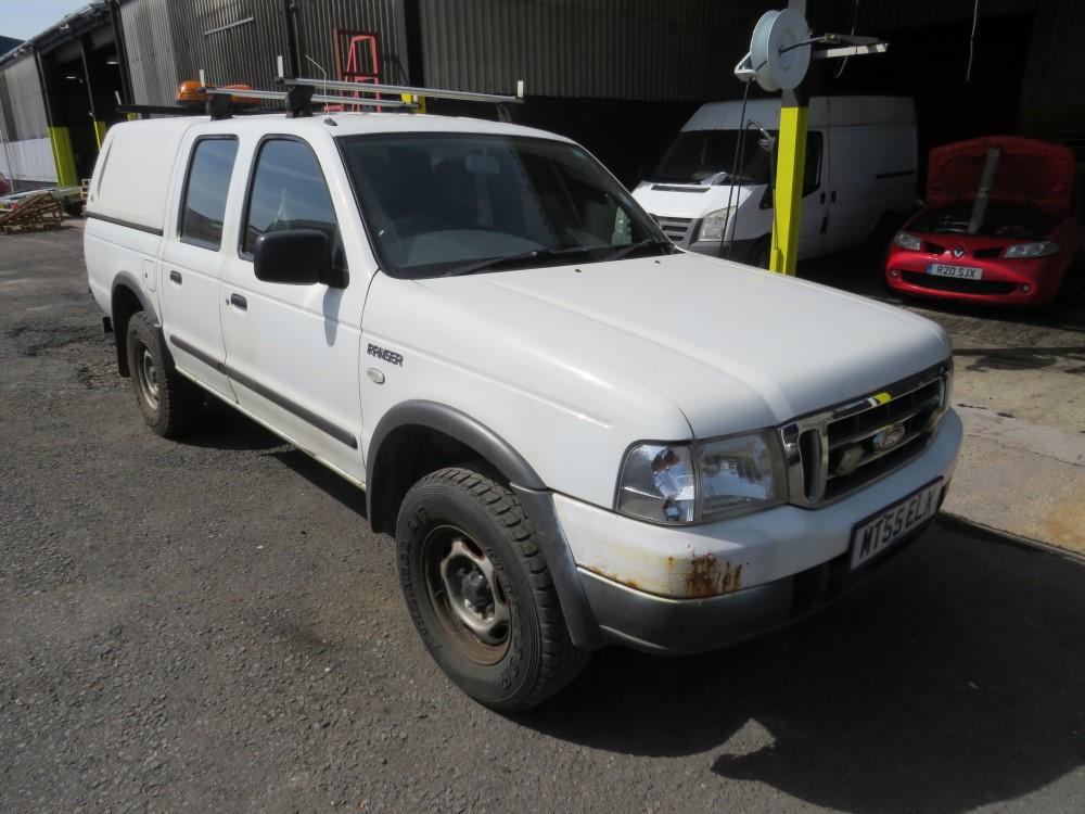 2005 55 reg FORD RANGER 4 X 4 TD PICKUP (DIRECT COUNCIL)