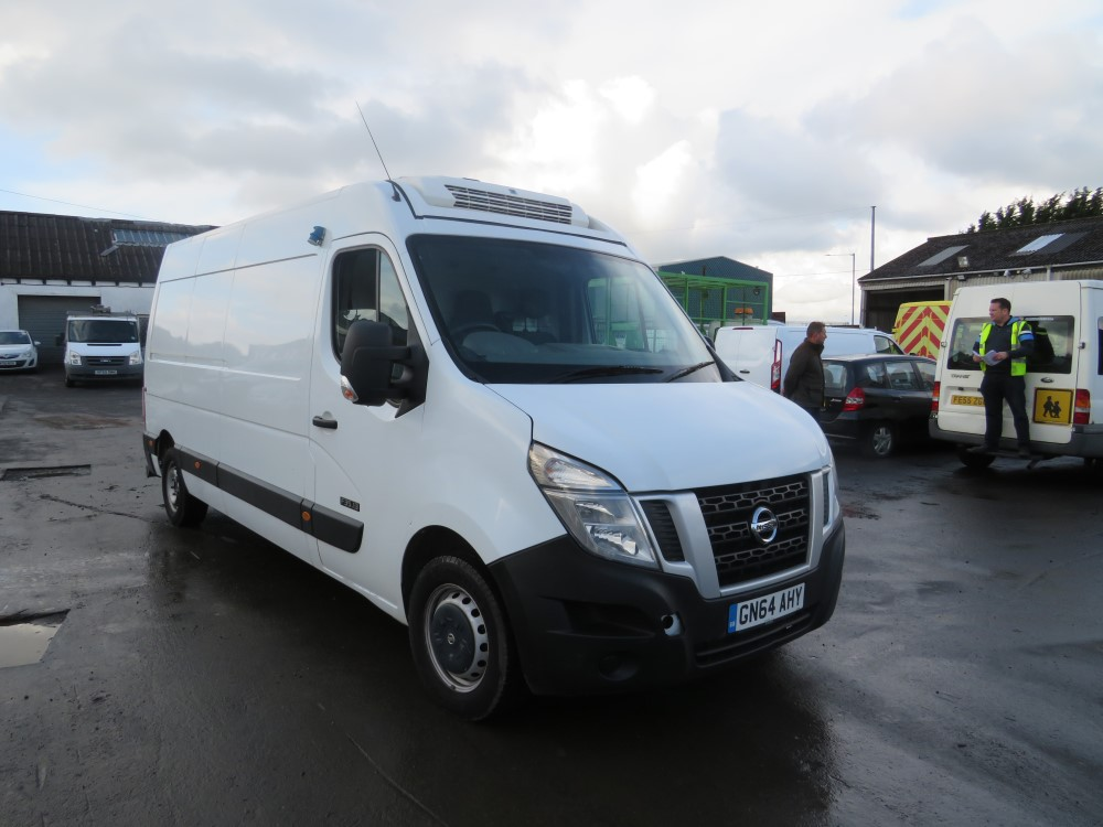 2014 64 reg NISSAN NV400 SE DCI FRIDGE VAN